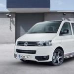 VWには「Transporter Sportline」というミニバンがある、英国にて60周年記念車