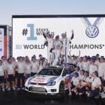 WRCはフォルクスワーゲンがマニュファクチャラータイトルを獲得!