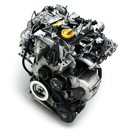 ルノー「ルーテシア ゼン 0.9L」のエンジン画像、元々ヨーロッパでは発売済でどちらかというとこちらの0.9Lのほうが主流となっている、画像はメーカーサイトより拝借