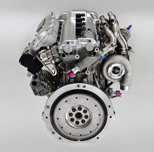Yaris WRCのエンジン画像1