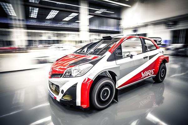 Yaris WRCのフロント画像その2