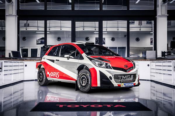 Yaris WRCのフロント画像その3