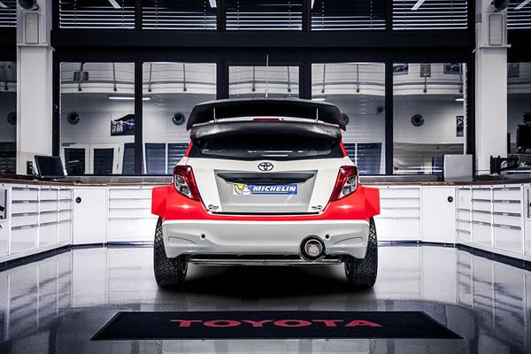 Yaris WRCのリア画像