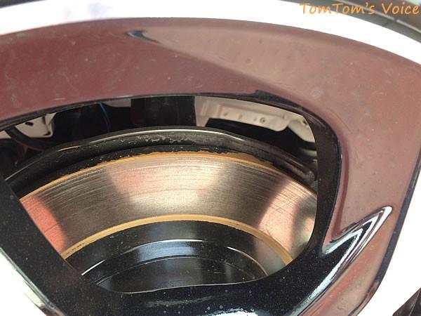S660のフロントブレーキディスク