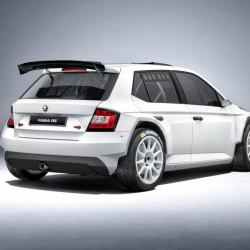 Skoda「Fabia R5」がホモロゲーションを取得、WRCが楽しみだ