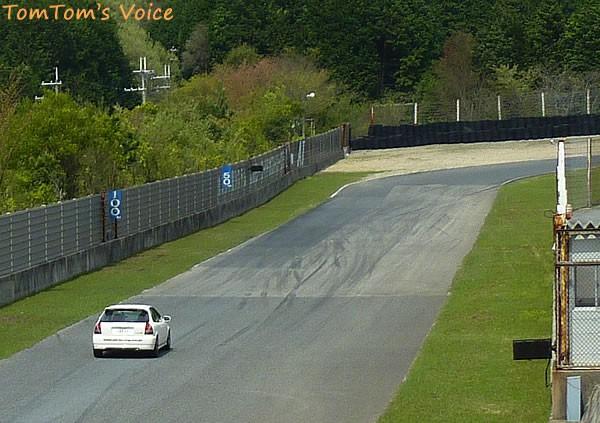 EK9のオッサンによるセントラル4コーナー進入1
