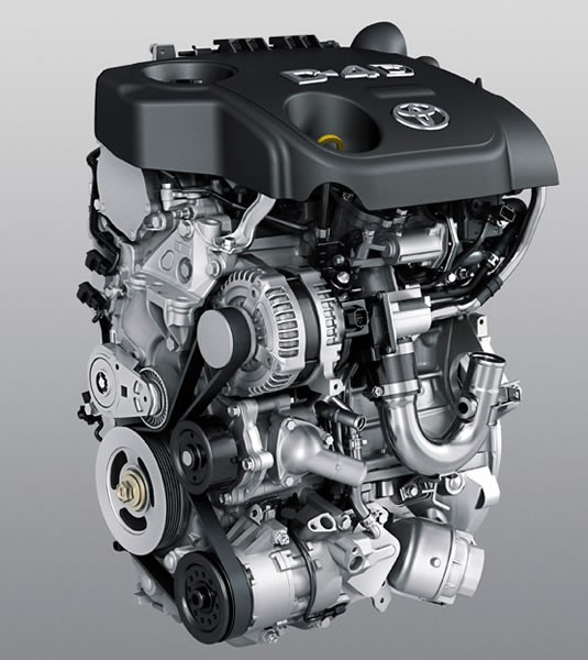 「1.4D-4D」クリーンディーゼルエンジン