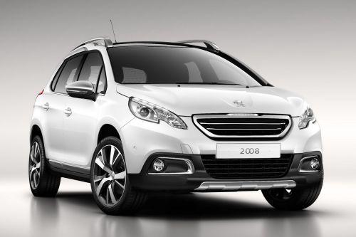 「Peugeot 2008 Crossover」フロント画像