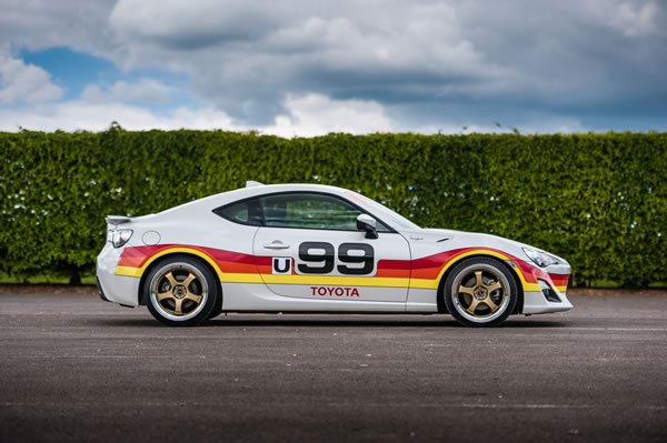 IMSA GTUシリーズに参戦したセリカの86オマージュモデル