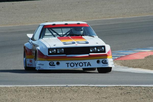 IMSA GTUシリーズに参戦したセリカ