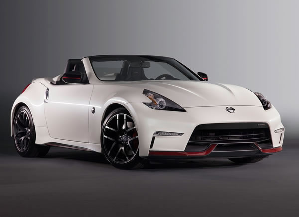 「370Z NISMO Roadster concept」のフロント画像その2