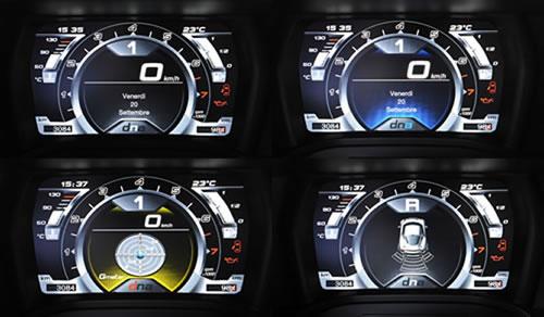 「Alfa Romeo 4C」のメータ画像
