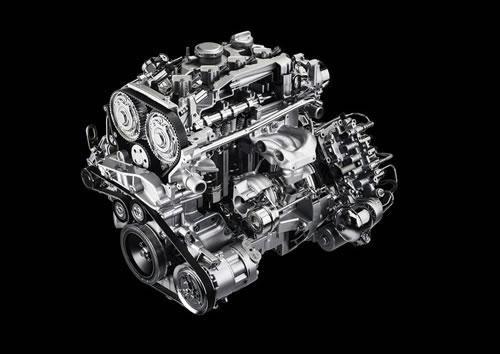 「Alfa Romeo 4C」のエンジン透視図