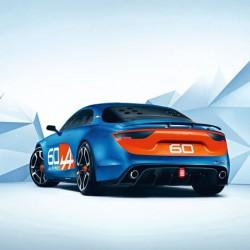 「Alpine Celebration Concept」はA110のオマージュ、すごく雰囲気出ている