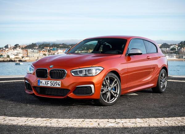 BMW新型M135iフロント画像その2