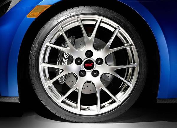「BRZ STI Performance Concept」フロントホイール画像