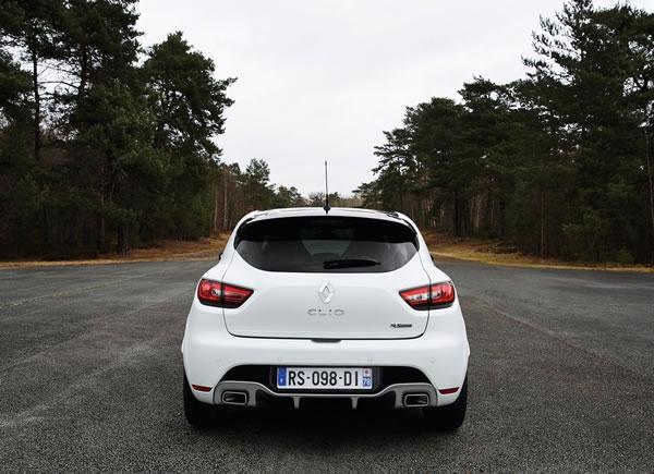 ルノー「Clio RS 220 Trophy EDC」のリア画像その2