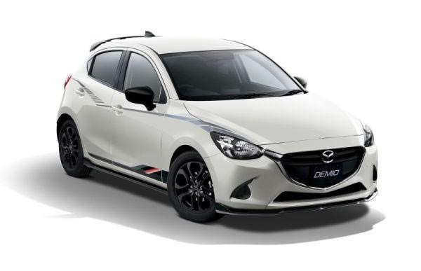 新型デミオのモータースポーツベース車