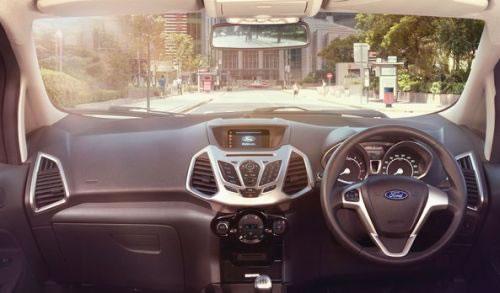 フォード新型「EcoSport」のインパネ