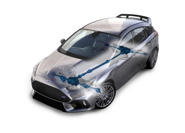 フォード新型フォーカスRSのAWD画像