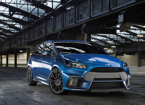 フォード新型フォーカスRSフロント画像