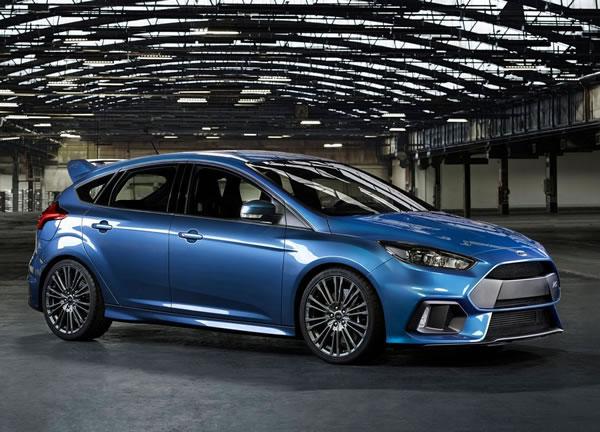 フォード新型フォーカスRSサイド画像