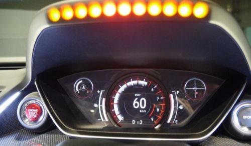 ホンダ「S660」のメーターパネル画像