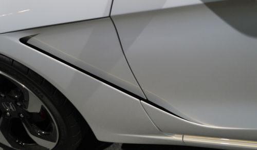 ホンダ「S660」のフロントフェンダー周辺の画像