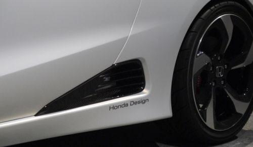 ホンダ「S660」のリアホイール前部のエアインテーク画像