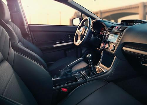 スバル新型「WRX」のフロントシート画像