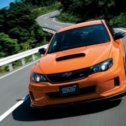 最近のスバルはオレンジ好き、「WRX STI tS TYPE RA」300台限定!