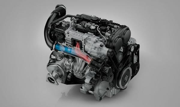 XC90のDrive-Eエンジン