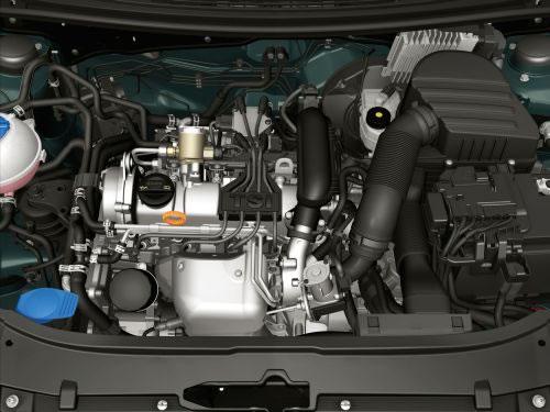 SKODAのYetiエンジン画像