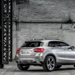 最近何かと熱いクロスオーバーその7、Mercedes-Benz「GLAコンセプト」
