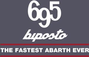 「Abarth 695 Biposto」ロゴ