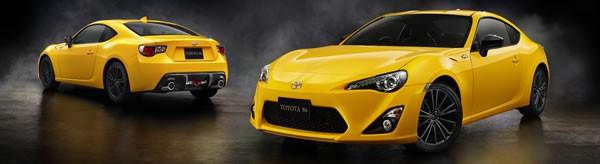 「86 GT Yellow Limited」の外観