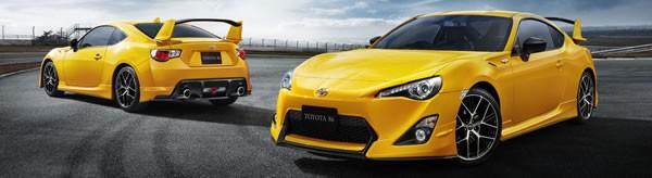 「86 GT Yellow Limited エアロパッケージFT」