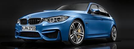 BMWのM3にもブルーがある