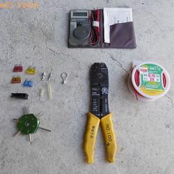 趣味の車弄りに必要な工具を揃える-その5:電装周りの工具
