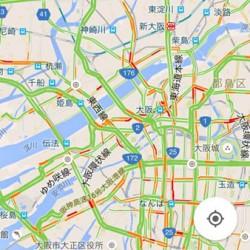 ナビのルート確認と渋滞情報、最近はグーグルマップ使っちゃう