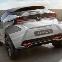 レクサスLF-SAは都市型高級車のトレンドを作るのだ
