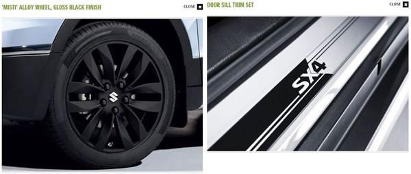 スズキ新型「SX4 S-CROSS」のUKでのアクセサリーの1例