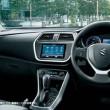 スズキ新型「SX4 S-CROSS」のインパネ画像