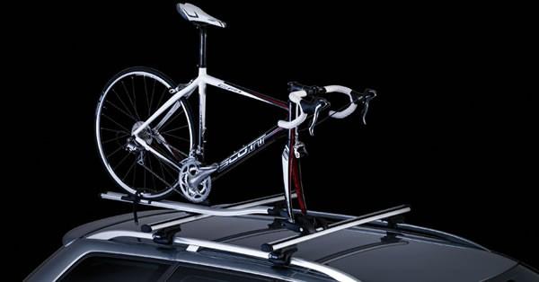 スーリーのOutRide561という自転車のフロントホイールを外すタイプのキャリア