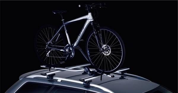 スーリーのProRide591という自転車キャリア成立式