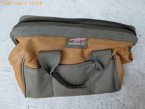 管理人の使用している遠征用工具バッグ、Bucket Boss 06007 GateMouth Jr. Tool Bag