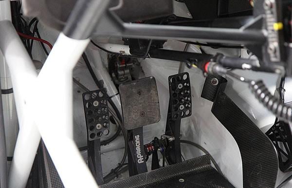 ポロWRCカーのペダル