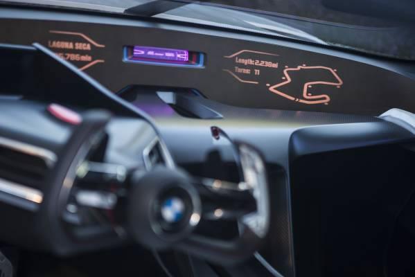 「BMW 3.0 CSL Hommage R」のインパネ