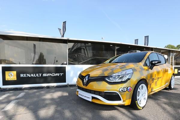 「Clio CUP CAR」のフロント画像