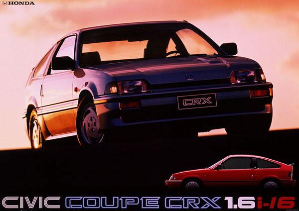 80年代のホンダバラードスポーツCR-X